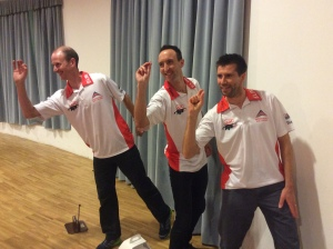 GB darts team
