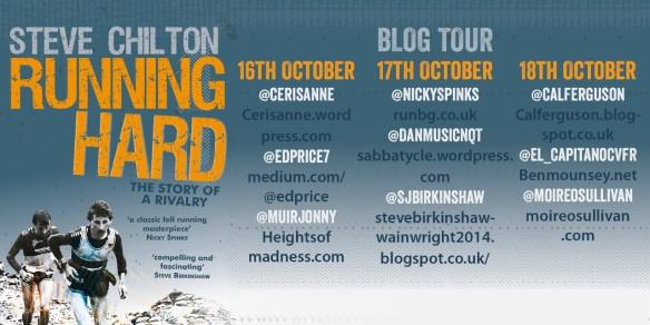 The 'Running Hard' Blog Tour – The secret fell running diary of Ben