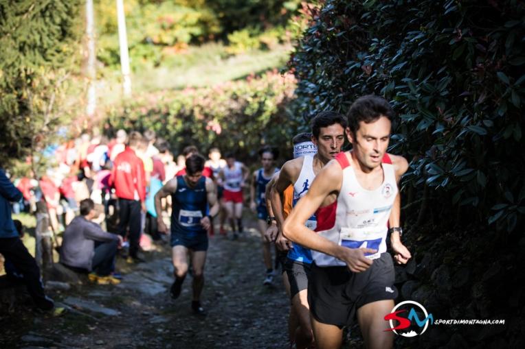 Alex Baldacinni leading the climb - Maurizio Torri